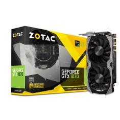 Foto Placa de Video NVIDIA GeForce GTX 1070 8 GB GDDR5 256 Bits Zotac ZT-P10700G-10M