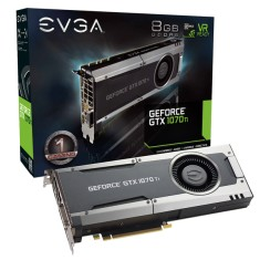 Foto Placa de Video NVIDIA GeForce GTX 1070 Ti 8 GB GDDR5 256 Bits EVGA 08G-P4-5670-KR