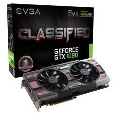 Foto Placa de Video NVIDIA GeForce GTX 1080 8 GB GDDR5X 256 Bits EVGA 08G-P4-6384-KR