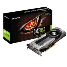 Foto Placa de Video NVIDIA GeForce GTX 1080 8 GB GDDR5X 256 Bits Gigabyte GV-N1080D5X-8GD-B