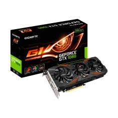 Foto Placa de Video NVIDIA GeForce GTX 1080 8 GB GDDR5X 256 Bits Gigabyte GV-N1080G1 GAMING-8GD