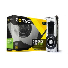 Foto Placa de Video NVIDIA GeForce GTX 1080 8 GB GDDR5X 256 Bits Zotac ZT-P10800A-10P