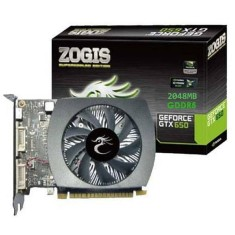 Foto Placa de Video NVIDIA GeForce GTX 650 2 GB GDDR5 128 Bits Zogis ZOGTX650-2GD5H