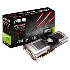 Foto Placa de Video NVIDIA GeForce GTX 690 4 GB GDDR5 512 Bits Asus GTX690-4GD5