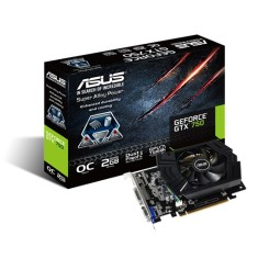 Foto Placa de Video NVIDIA GeForce GTX 750 2 GB GDDR5 128 Bits Asus GTX750-PHOC-2GD5