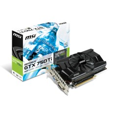 Foto Placa de Video NVIDIA GeForce GTX 750 Ti 2 GB GDDR5 128 Bits MSI N750TI-2GD5 OC