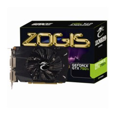 Foto Placa de Video NVIDIA GeForce GTX 750 Ti 2 GB GDDR5 128 Bits Zogis ZOGTX750TI-2GD5