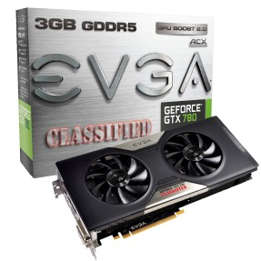 Foto Placa de Video NVIDIA GeForce GTX 780 3 GB GDDR5 384 Bits EVGA 03G-P4-3788-KR
