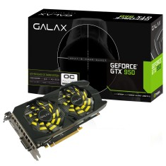 Foto Placa de Video NVIDIA GeForce GTX 950 2 GB GDDR5 128 Bits Galax 95NPH8DSH4HB