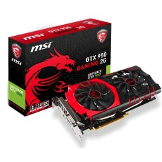 Foto Placa de Video NVIDIA GeForce GTX 950 2 GB GDDR5 128 Bits MSI GTX 950 GAMING 2G