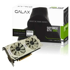 Foto Placa de Video NVIDIA GeForce GTX 960 2 GB GDDR5 128 Bits Galax 96NPH8DVE8DC