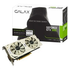 Foto Placa de Video NVIDIA GeForce GTX 960 4 GB GDDR5 128 Bits Galax 96NPH8DVE8D4