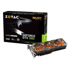 Foto Placa de Video NVIDIA GeForce GTX 980 4 GB GDDR5 256 Bits Zotac ZT-90204-10P