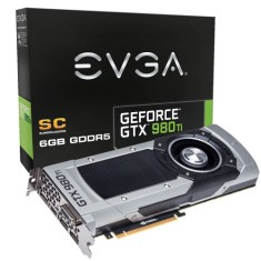 Foto Placa de Video NVIDIA GeForce GTX 980 Ti 6 GB GDDR5 384 Bits EVGA 06G-P4-4992-KR