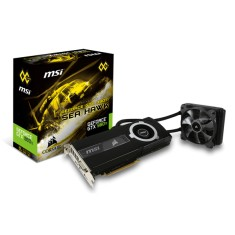 Foto Placa de Video NVIDIA GeForce GTX 980 Ti 6 GB GDDR5 384 Bits MSI GTX 980Ti SEA HAWK