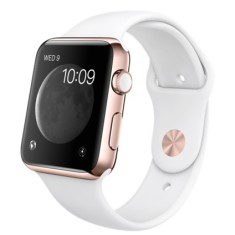 Foto Relógio Apple Watch Edition Rose Gold Sport Band