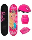 Skate Infantil - Fun Barbie 7619-1