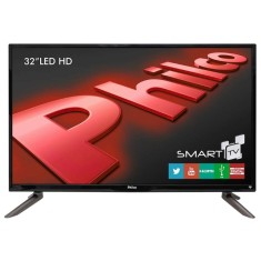 "Foto Smart TV LED 32"" Philco PH32C10DSGW 3 HDMI USB"