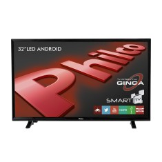 "Foto Smart TV LED 32"" Philco PH32E20DSGWA 2 HDMI LAN (Rede)"