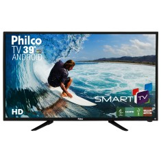 "Foto Smart TV LED 39"" Philco PH39N91DSGWA 2 HDMI LAN (Rede)"