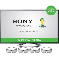 "Foto Smart TV LED 3D 46"" Sony Bravia Full HD KDL-46W955A"