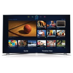 "Foto Smart TV LED 3D 55"" Samsung Série 8000 Full HD UN55F8000"