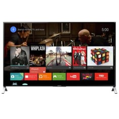 "Foto Smart TV LED 3D 65"" Sony 4K XBR-65X905C 4 HDMI"