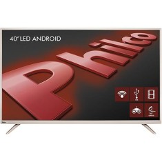 "Foto Smart TV LED 40"" Philco Full HD PH40F10DSGWAC 2 HDMI"