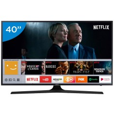"Foto Smart TV LED 40"" Samsung Série 6 4K HDR 40MU6100"