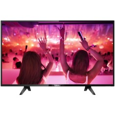 "Foto Smart TV LED 43"" Philips Série 5102 Full HD 43PFG5102 3 HDMI"