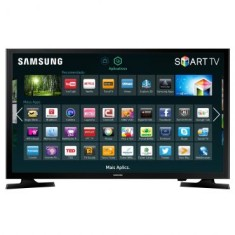 "Foto Smart TV LED 48"" Samsung Full HD 48J5200 2 HDMI"