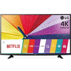 "Foto Smart TV LED 49"" LG 4K 49UF6400 2 HDMI"