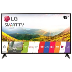 "Foto Smart TV LED 49"" LG Full HD 49LJ5550 2 HDMI"