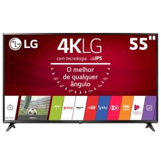 "Foto Smart TV LED 55"" LG 4K 55UJ6300"
