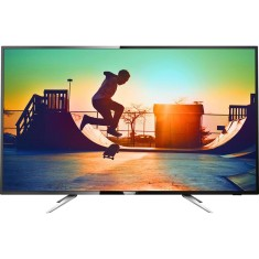 "Foto Smart TV LED 55"" Philips Série 6000 4K 55PUG6102 4 HDMI"
