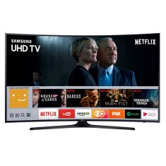 "Foto Smart TV LED 55"" Samsung Série 6 4K 55MU6300 