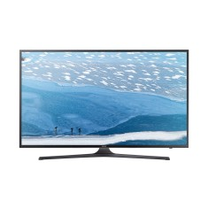 "Foto Smart TV LED 55"" Samsung Série 6 4K HDR UN55KU6000"
