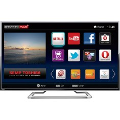 "Foto Smart TV LED 55"" Semp Toshiba 4K 55L7400 3 HDMI MHL"