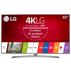 "Foto Smart TV LED 65"" LG 4K HDR 65UJ6585 4 HDMI"