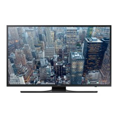 "Foto Smart TV LED 75"" Samsung Série 6 4K UN75JU6500 4 HDMI"