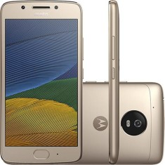 Foto Smartphone Motorola Moto G G5 32GB XT1672 13,0 MP 2 Chips Android 7.0 (Nougat) 3G 4G Wi-Fi