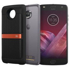 Foto Smartphone Motorola Moto Z Z2 Play Sound Edition 64GB xt1710 12,0 MP 2 Chips Android 7.1 (Nougat) 3G 4G Wi-Fi