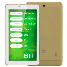 "Foto Tablet Mirage 61T 8GB 3G 7"" Android 4.4 (Kit Kat) 