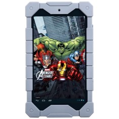 "Foto Tablet Tectoy Avengers TT5100i 8GB 7"" Android 2 MP"