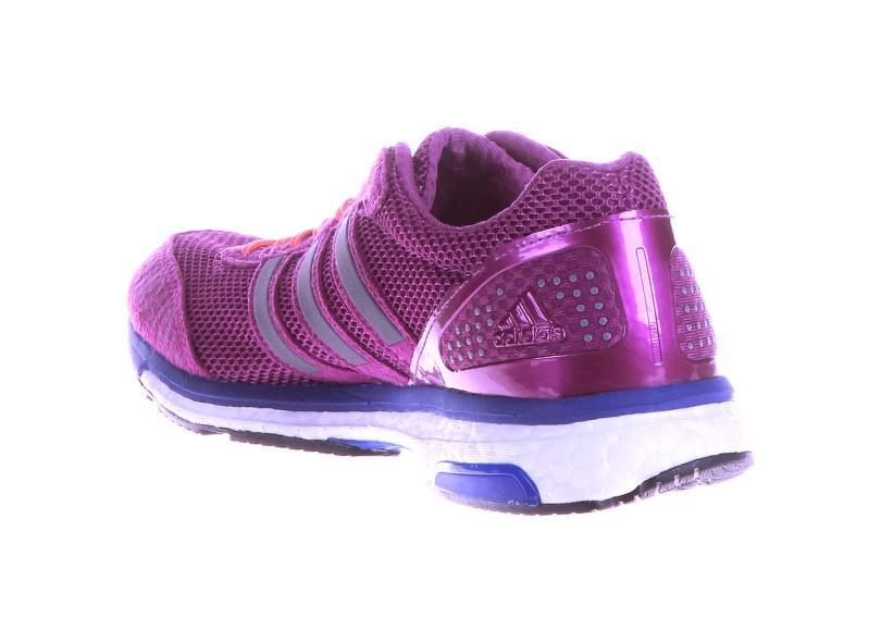 8e6e1f1d16bad Tênis Adidas Feminino Corrida Adizero Adios Boost 2