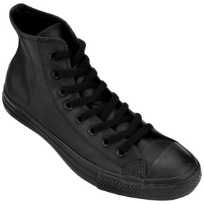 Foto Tênis Converse All Star Unissex CT As Monochrome Leather Hi Casual