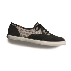 Foto Tênis Keds Feminino Champion Brogue Plaid Casual