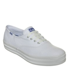 Foto Tênis Keds Feminino Triple Canvas Casual
