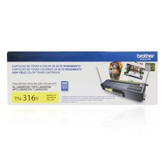 Foto Toner Amarelo Brother TN-316Y