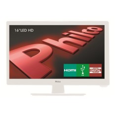 "Foto TV LED 16"" Philco PH16D10DB 1 HDMI USB PC"